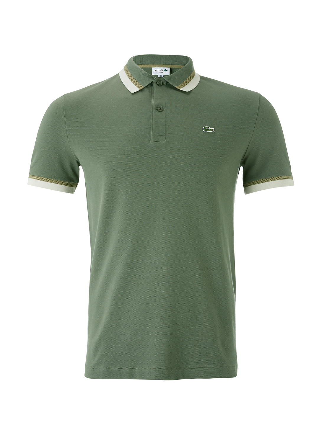 b02f035bf7e Lacoste Slim Fit Twin à manches courtes Polo